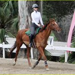 Iggy Azalea was seen horseback riding during her break from social media. Photos here: http://t.co/WSHG2A2N3K http://t.co/Mc5kaxxolF