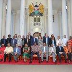 Yesterday, I joined H.E Hon. @UKenyatta who hosted Mo Ibrahim Foundation Delegation at the State House @NEPAD_Agency http://t.co/nWUTlTSzeN