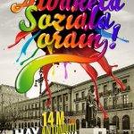 Porque queremos cambiar la Navarra gris por la de mil colores. #14M gran movilización por el cambio social. http://t.co/5zohOME15z