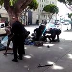 LAPD: Struggle over cops gun led to fatal shooting of homeless man captured on VIDEO http://t.co/0G8pjvESzu http://t.co/aRfKk35hB5