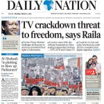 TODAYS PAPER: Al-Shabaab 'is plotting to blow up Parliament' http://t.co/cMbnYmIg4v http://t.co/pvoHQlWHjp