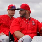 Peace out. See you tomorrow fans! #LAASpring #Angels http://t.co/iw863u44bG