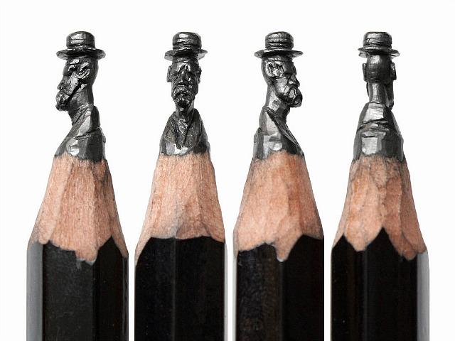 Detailed Miniature Sculptures Carved into the Graphite of Pencil Tips   http://t.co/uowyu0srgC #art http://t.co/jzUfc7retf