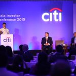 Delighted to deliver a key note on investment opportunities in AP at CITI India Investor Conference 2015. http://t.co/oXZzwGwDsj