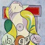 La lettura secondo Picasso.. #buongiorno twitterucci..☺️☕️☕️☕️ #arte #cultura #art http://t.co/sY9Eui0be8