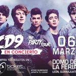¡El viernes tenemos concierto! #ThePartyTour en El Domo de la Feria en León. http://t.co/rWL5XJnpCf http://t.co/lz62YMuUWJ