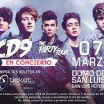 """¡Quedan como """"muy pocos"""" boletos para #ThePartyTour en San Luis Potosí! ¡Vayan por el suyo! http://t.co/kP2CLLjWqy http://t.co/cP9dS1bxuu"""
