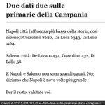 Due dati due sulle #primariecampania (da @civati with compliments) - http://t.co/c039AnZIWf