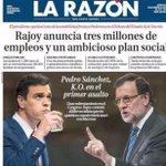 Pues entre una portada y la otra solo han pasado cinco días. Lo de Rajoy tiene su mérito. http://t.co/w75ruLuexI