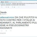 @MadagioPepe Salvini la finta opposizione ❗️ http://t.co/oBtnnE2Zf6