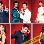 RT @filmfare: Lights, Camera, Action.  Check out the stars getting candid at the #BritanniaFilmfareAwards.   http://t.co/oR3DUbQ6lT