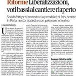 @fedcons ecco risposta di @Corriereit a sparate di Giavazzi-Alesina contro #chititutela su false liberalizzazioni http://t.co/l6gjvTZiya