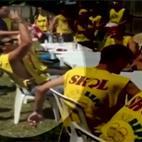 Vídeo mostra disputa de quem bebe mais que resultou em morte de estudante em SP http://t.co/K6pJmKcdiW #G1 http://t.co/80Fk5SaVIK
