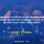 Kurt Zouma was delighted to win his first medal of his Chelsea career... http://t.co/bBqEpA7iGo #CFC http://t.co/Xzd94Aon87
