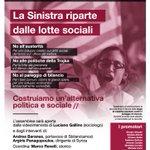 Questa sera a #Torino #sfidiamo anche #Roma #Juve ore21 alla #FabbricaDelleE La #Sinistra Riparte dalle lotte sociali http://t.co/mxe6UgOZdi