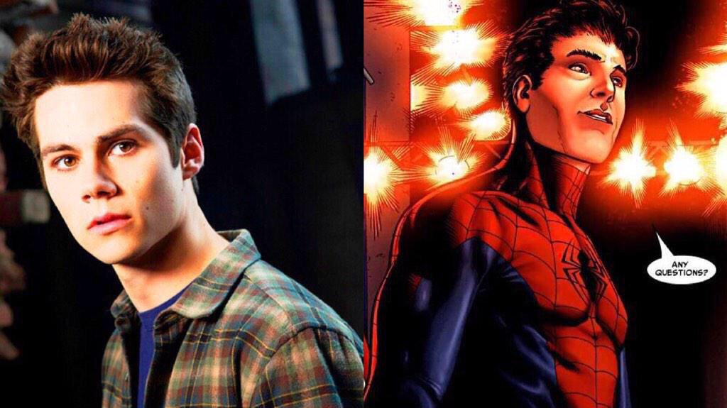 RT @SuperheroFeed: DYLAN O'BRIEN rumored to have already been cast as SPIDER-MAN. RT http://t.co/RCaEkT8SSE