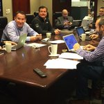 Head inside the #Canucks war room where the mood is light and Trevor Linden is smiling... http://t.co/cWs8NAhT6C http://t.co/YCUF77qxGQ