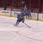Burrows, Bieksa, Richardson all on the ice prior to practice. #canucks http://t.co/dR67MQxtGL