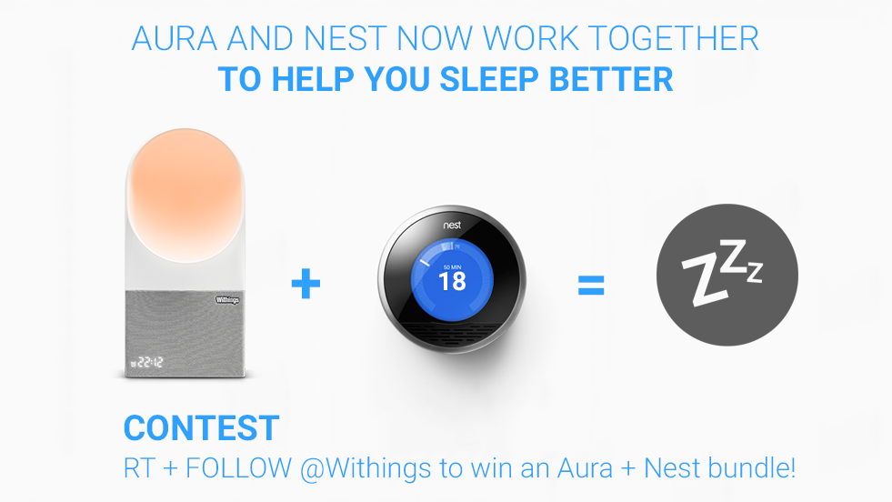 And join our contest to win an Aura + Nest bundle! http://t.co/3RXNoz5tBq