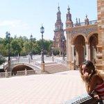 La bellissima #Plaza de Espana di #Sevilla #Expo2015 #Spagna #ExpoVintage #Andalusia http://t.co/VlHSPt5SA2 http://t.co/t2t6ma7A8L
