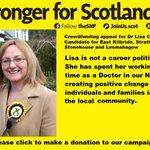 MT @herrando: I support sending strong team of SNP MPs 2 WM! #votesnp #thesnp http://t.co/95VRUwSscL @lisacameronsnp http://t.co/ZLfrrMxaOG