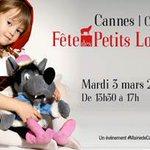 Demain, emmenez vos ptits loups faire la fête à #Cannes ! http://t.co/xXRI9AFRJp http://t.co/M4tZBYSaA7