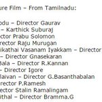 RT @rameshlaus: @Dhananjayang @iamVikramPrabhu @Gajjarmonal Congratulations! #SigaramThodu is nominated for #NTFF2015 - #Norway TFF