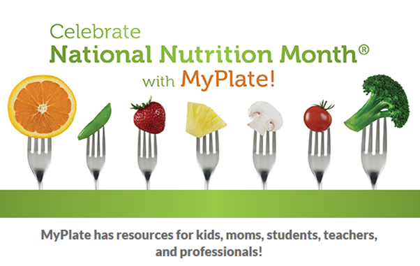 March is National Nutrition Month®! Celebrate with these #MyPlate resources: http://t.co/fbg8i48BuD #NNM http://t.co/3IvJB8LRq1