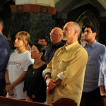 Familiares de Antonio Ledezma participaron en misa por la liberación de los presos políticos http://t.co/53FuUmFKeT http://t.co/vOxQlVUzja