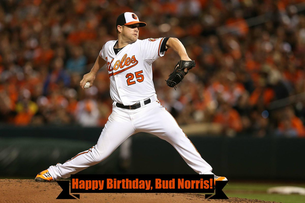 What's Buck getting you? RT @Orioles: Happy Birthday, @BudNorris25! Retweet to wish him a great day. http://t.co/oD3sWpCCPY