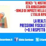 Le balle di #Renzi si scontrano con lamara realtà. Pressione fiscale in aumento nel 2014,ennesimo flop x il premier! http://t.co/etG51ILS9l