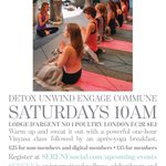 #London few spaces left this SAT #rooftop #vinyasa #yoga w/@serenesocial @coqdargent1 @Liforme @MFML_ @Yoga4Londoners http://t.co/s5SIrzR3nu