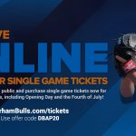 Happy Monday- Online presale for ALL single game tickets begins NOW! Use code DBAP20: http://t.co/9fcKABMi2G http://t.co/Q8sSw2Z5e1