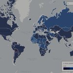 #RomaJuve, è la Cambogia il Paese a più alto tasso bianconero. Ecco la mappa mondiale http://t.co/aS5OifUwM2 http://t.co/JVserlTFpg