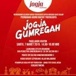 """Gerakan """"Jogja Gumregah"""" akan mengikuti setelah launching branding #JogjaIstimewa –mari kita kawal ! http://t.co/NssFt9PSH0"""