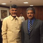 Chandrababu Naidu is as energetic&optimistic as ever.After a meeting with him, you walk with a spring in your step http://t.co/xJtCIqT469