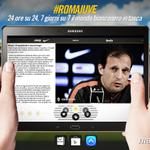 #RomaJuve, ci siamo quasi! Seguite il pre-partita su #JuventusLive. Scaricate qui lapp: http://t.co/pyCgaxcoBI http://t.co/Vz29VfSTbO