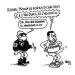 #LEGA A #ROMA PROVA DI FORZA DI #SALVINI La mia nuova vignetta per #ServizioPubblico 02/03/15 http://t.co/Bk9V8Is3AQ http://t.co/HuixgnzV64