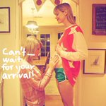 .@taylorswift13 announces that she will be the Godmother of @Jaime_King's soon-to-be-born baby! Congrats, y'all!