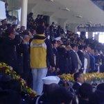 Presidenta @GabrielaEsPais en celebración de #77Años de profesionalización de la @PoliciaEcuador http://t.co/3S2x9ksRhh