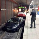 German man drives onto underground train track in Dortmund after following a tram http://t.co/FDGX0AD6K0 http://t.co/4LL0gJxfvW