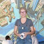 """صور: كبار فناني الرسم ثلاثي الأبعاد في العالم يتألقون في """"#دبي كانفس"""" http://t.co/RI3eSkz6B2"""