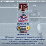 We host Dallas Baptist tonight at 6:30. You can watch live here; http://t.co/8yqk4TfkJC #12thMan http://t.co/BucNyNsofS