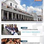 Conozca la agenda que cumplirá hoy el Presidente @MashiRafael en el Palacio de #Carondelet en #Quito http://t.co/KOvIVXXZwR