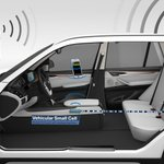 #BMW presents the Vehicular Small Cell project, which aims to improve mobile reception in vehicles. @BMWi #MWC15 http://t.co/f1R4Q2PQAK
