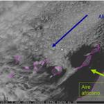 En las próximas horas se espera que en la vertical de Canarias confluyan tres flujos de distinto origen http://t.co/BwETIoVYbq