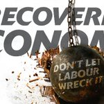 A recovering economy. Dont let Labour wreck it! http://t.co/dKCcT8Earh