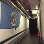 Backstage corridor. Blue flags still up. #NGHFBTour http://t.co/N1IMqsfkR1