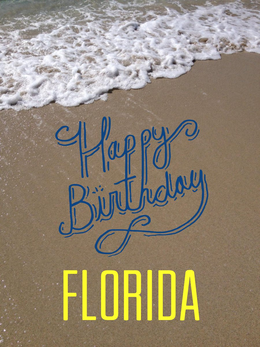 Happy Birthday, Florida! You look good for 170. #LoveFL http://t.co/8ANa1aQ8P1