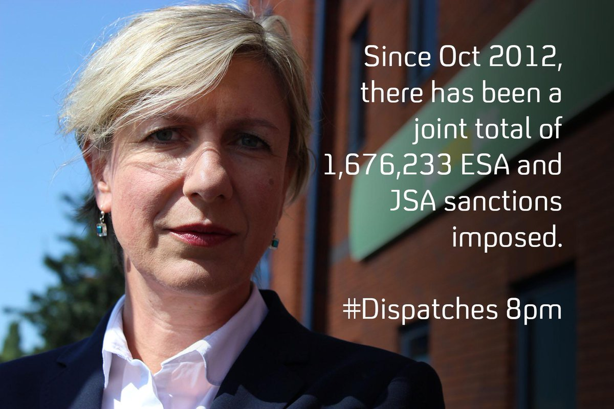 At 8pm, @lizmackean looks at Britain's Benefits Crackdown for #Dispatches. http://t.co/3aRlbq1X1G